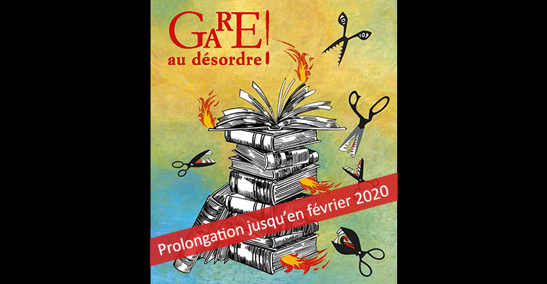 "Exposition du Grand hall ""Gare au désordre !"""